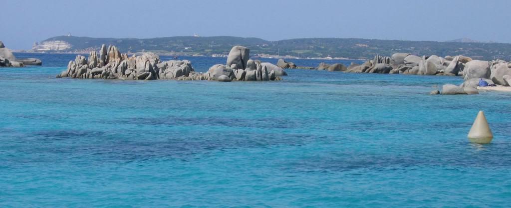 Back to Cap Pertustato from Ile Cavallo