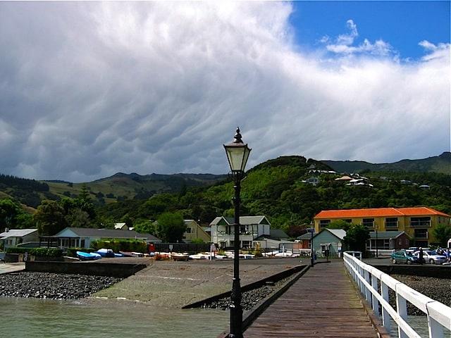 Clouds over Akaroa