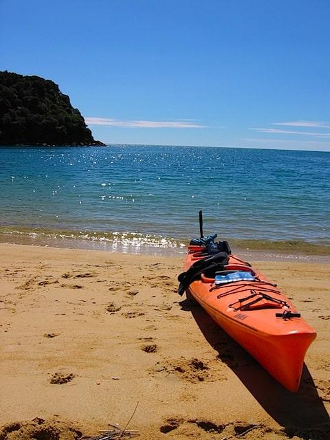 The fastest kayak in the Abel Tasman